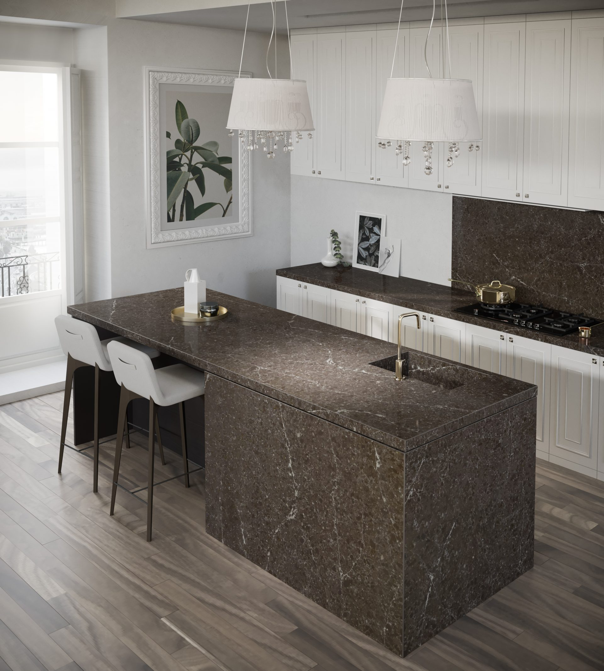 Silestone Kitchen - Eternal Emperador